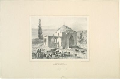 Tombeau de Mariah, Baghtcheh-Sarai, Crimée, 21 Aout 1837