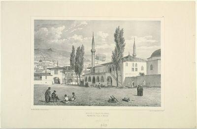 Mosquée du Palais des Khans, Baghtcheh-Sarai, Crimée, 17 Âout 1837