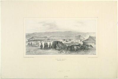Poste aux chevaux, Bessarabie, 5 Aout 1837
