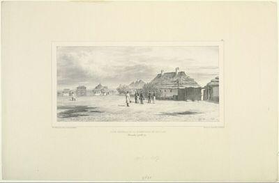 Cour Général de la Quarantaine de Skoulani, Bessarabie, 24 Juillet 1837