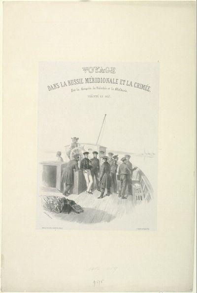 Voyage dans la Russie méridionale et la crimée, par la Hongrie, la Valachie et la Moldavie, exécuté en 1837