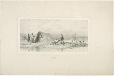 Postes gardés par les colonies militaires hongroises, Danube rive gauche, 7 juillet 1837