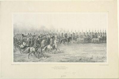Revue de Cavalerie, au camp de Vosuessensk, 7 Septembre 1837