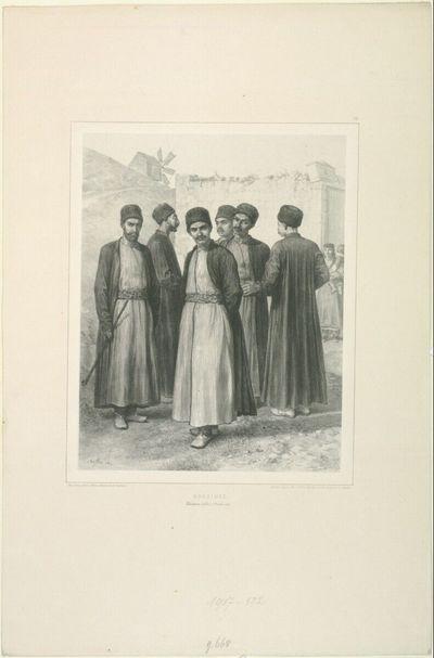 Karaimes, Théodosie, Kaffa, 1. Octobre 1837