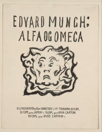 Alpha und Omega: Titelblatt