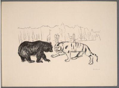 Tiger und Bär