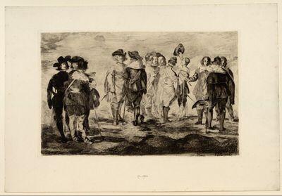 Die kleinen Reiter (nach einem Velasquez zugeschriebenen Gemälde)