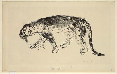 Schleichender Panther