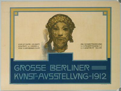 GROSSE BERLINER KUNST-AUSSTELLUNG 1912