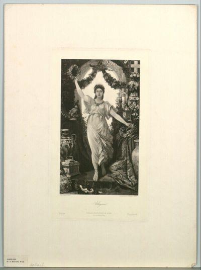 Allegorie; Weltausstellung Paris 1878