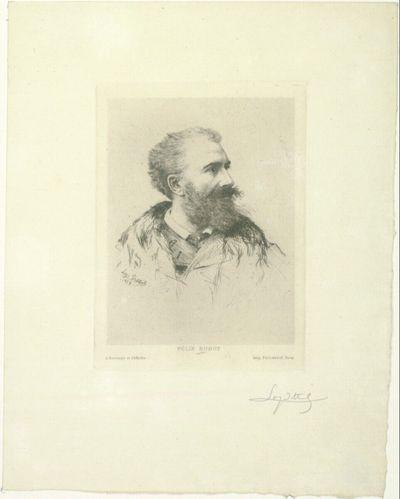Porträt Félix Buhot