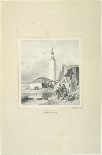 Tour de l'horloge, Bâtie pendant l'occupation Turque, 11 Juillet 1837