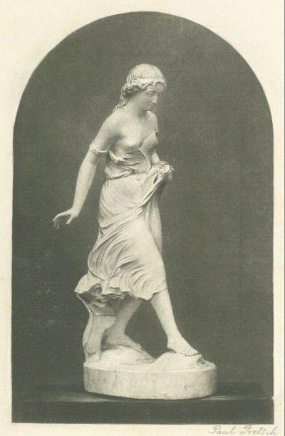 Statue eines Mädchen