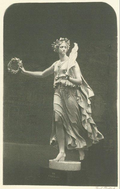 Statue der Victoria