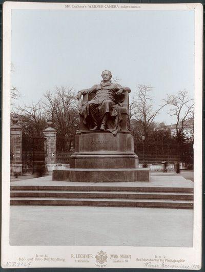 Enthüllung der Goethe Statue in Wien