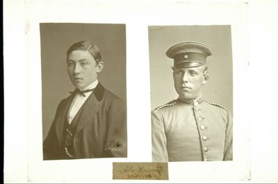 Zwei Männerporträts