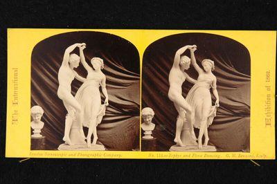 Weltausstellung London 1862: Statue von Giovanni Maria Benzoni: Tanz von Zephyr und Flora