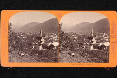 Bozen, Südtirol, von Gries aus