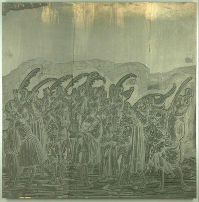 Triumphzug Kaiser Maximilians I.: Männer mit Figuren der Viktoria (2. Teil)