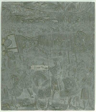 Die Ehrenpforte Kaiser Maximilians I.; C'2 - Historie Nr. 10 (Bild)