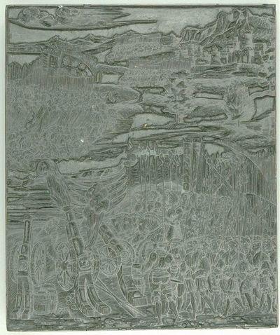 Die Ehrenpforte Kaiser Maximilians I.; C'2 - Historie Nr. 12 (Bild)