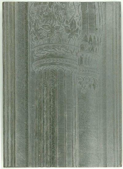 Die Ehrenpforte Kaiser Maximilians I.; B' - Schaft inneres Freisäulenpaar