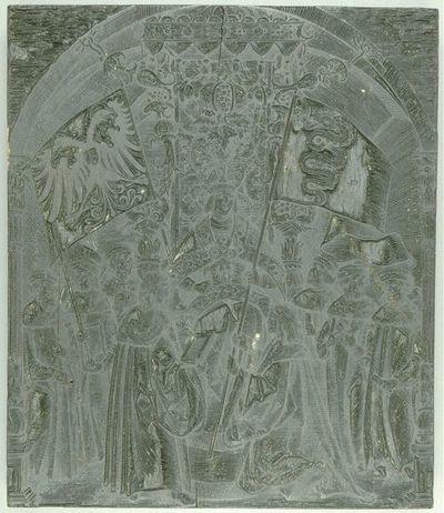 Die Ehrenpforte Kaiser Maximilians I.; C'2 - Historie Nr. 8 (Bild)