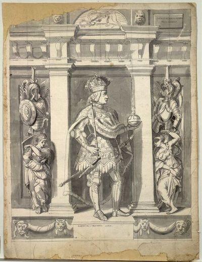 Albertus I Triumph. Imp.