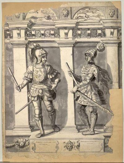 Albertus Comes Haps XVIII Exulator, Bernherus Comes Hap XVII Iustus