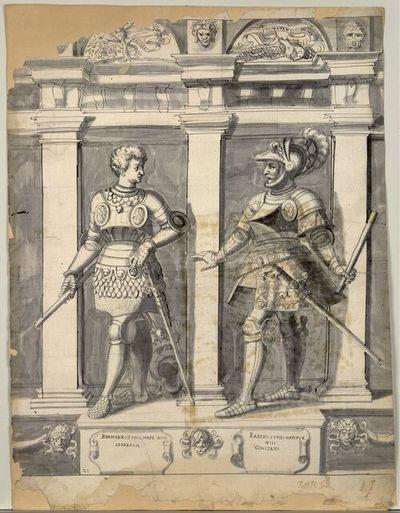 Bernherus Com. Haps XIIII Liberalis, Rapoto Comes Hapspur XIII Constans