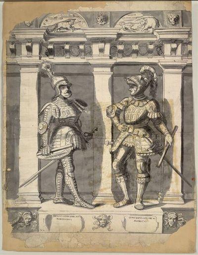 Betzo Comes Haps. XII Fortissimus, Guntramus Com. Hap. XI Modestus