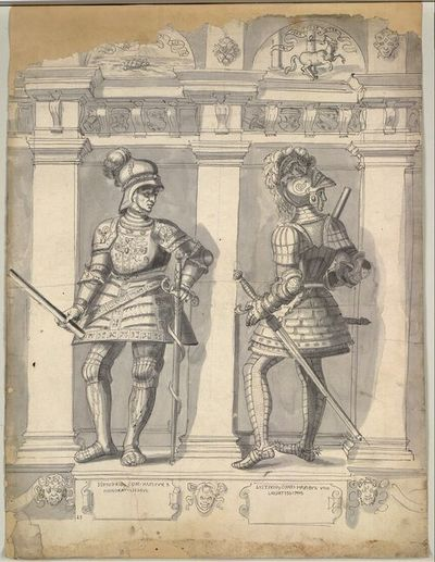 Hunifrid ... Com. Hapspur X Honoratissimus., Luitfrid ... Comes Hapsbur VIIII Laudatissimus