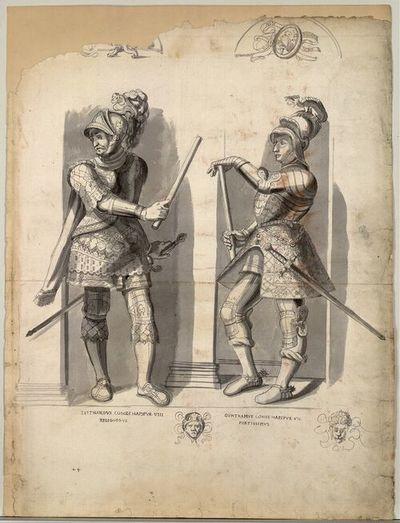 Luithardus Comes Hapspur VIII Religiosus, Gumtramus Comes Hapspur VII Fortissimus