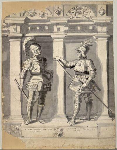 Ramprechtus Comes Hapspur VI Gratiosus, Hetoprechtus Comes Hapspur V Cautus