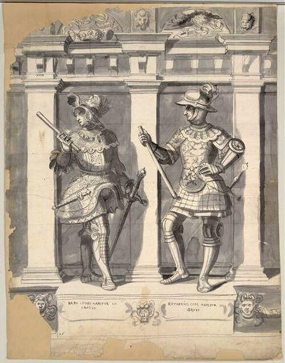 Babo Comes Hapspur III Gratus, Rotherius Com. Hapspur IIII Aequus