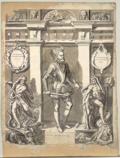 Philippus Cathol Rex Hisp