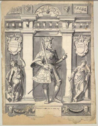 Ferdinandus. V. Arag. Hisp. et Neap. Rex.
