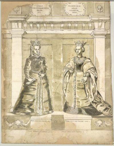 Maria. Regis Hisp. Philippi VX II, Maria Regis Hisp Philippi Uxor I