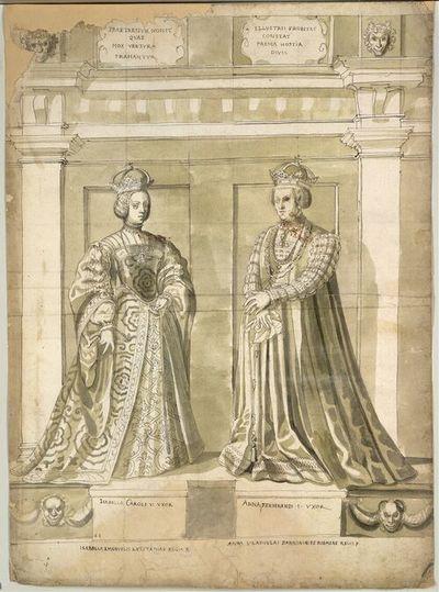 Isabella Caroli V. Uxor, Anna Ferdinandi. I. Uxor