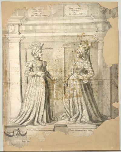 Bianca Maria Maximiliani. I. Ux Altera, Maria Maximiliani. I. Ux. Prior.