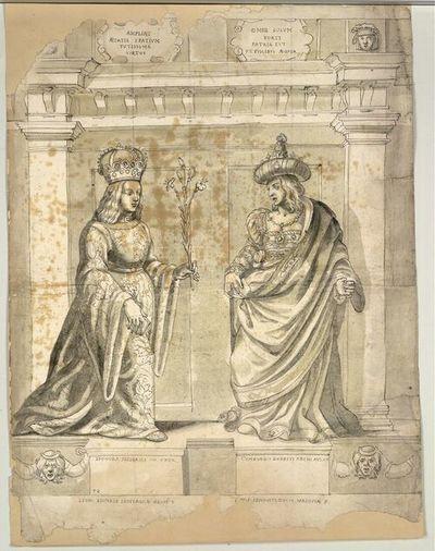 Leonora Friderici III Uxor, Cymburgis Ernesti Archi Aus. Ux