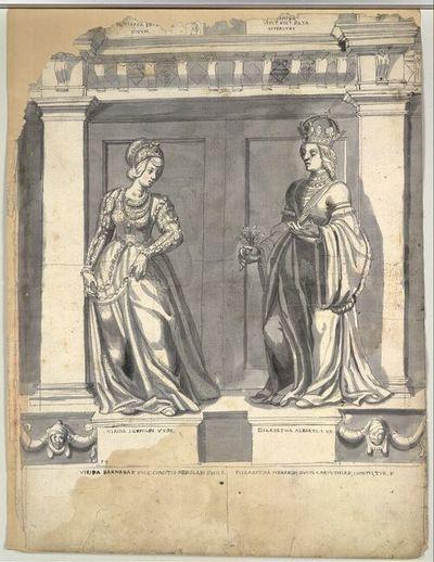 Virida Leopoldi Uxor, Elizabetha Alberti. I. Ux.