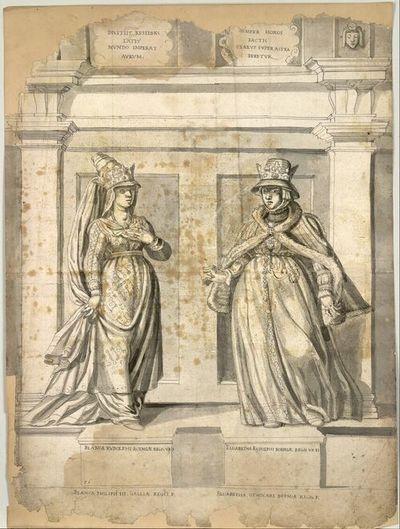 Bianca Rudolphi Boemiae Regis. Ux. I, Elisabetha Rudolphi Boemiae Regis Ux II
