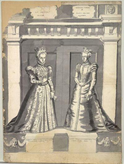Isabella Caroli IX Galliae Regis Uxor Maximiliani II. Fil., Ionna Ioannis Lusitaniae Regis Uxor Caroli V Imp Filia