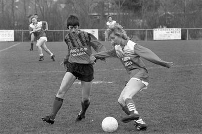 Kerkwerve. Sportpark De Vospit. Damesvoetbalteam WIK speelt tegen het elftal van Yerseke. WIK verloor met 1-2.