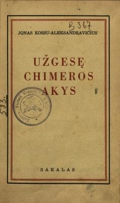 Užgesę Chimeros akys