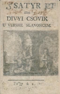 Satyr iliti Divyi csovik u vershe Slavoncem
