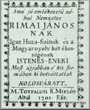 Rimay János összes költeménye