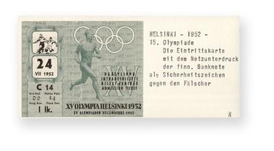 Spiele der XV. Olympiade 1952, Helsinki