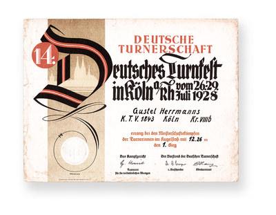 14. Deutsches Turnfest - 1928, Köln